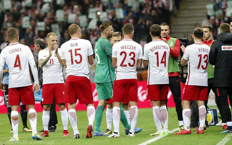Pożegnanie Artura Boruca podczas meczu towarzyskiego Polska - Urugwaj na Stadionie Narodowym. Warszawa, 10 listopada 2017