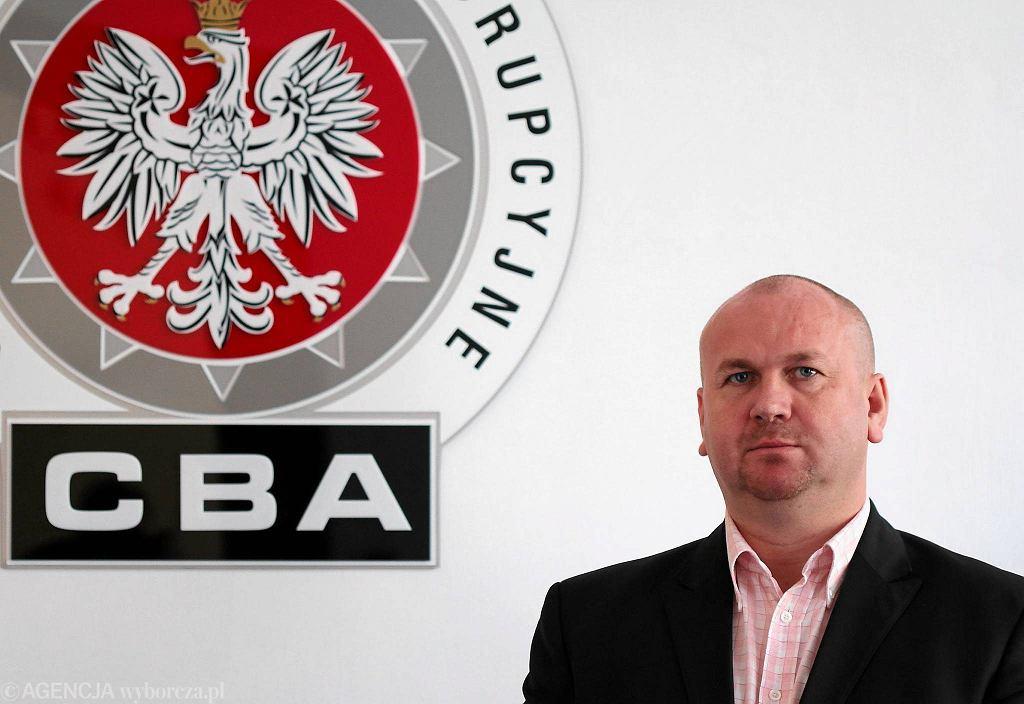 Paweł Wojtunik, szef CBA