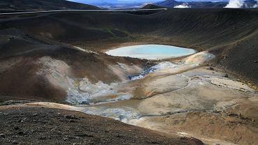 Czy władze Islandii dałoby się zainteresować przemysłem śmieciarskim? Islandzki wulkan Krafla jest czynny. Ostatnia erupcja miała miejsce w 1984 roku