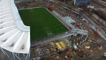 Budowa stadionu ŁKS-u Łódź