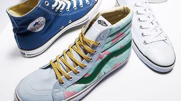 Trampki: modne buty w wielkim mieście
