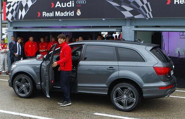 Kaka wybrał Audi Q7 z 4,2 litrowym dieslem o mocy  340 KM i 800 Nm maksymalnego momentu obrotowego