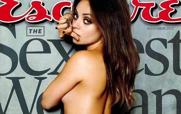 Mila Kunis na okładce magazynu