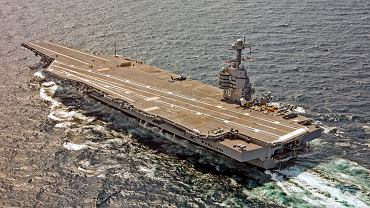 USS Gerald R. Ford.