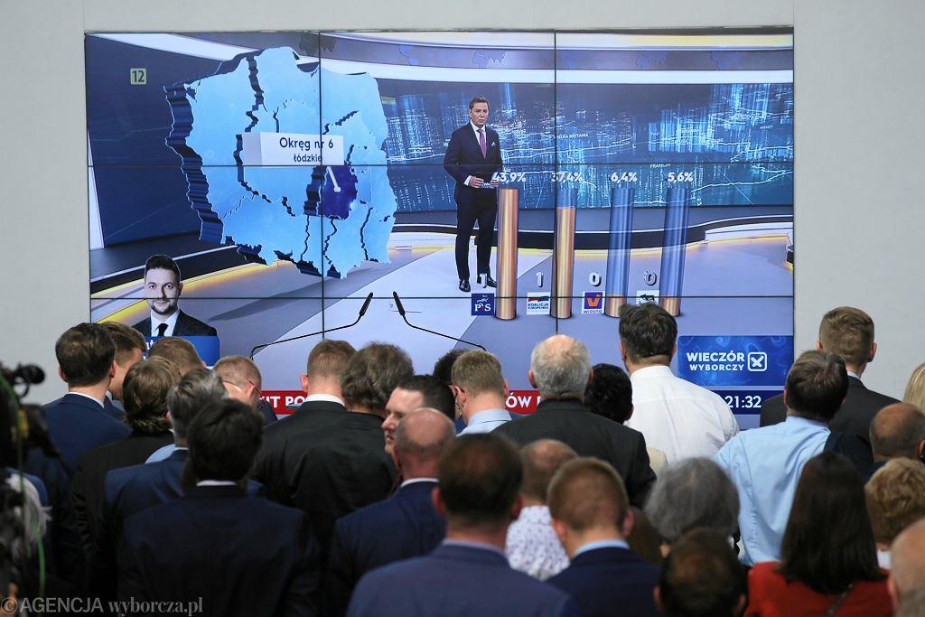 Wybory do Parlamentu Europejskiego. Wstępne wyniki