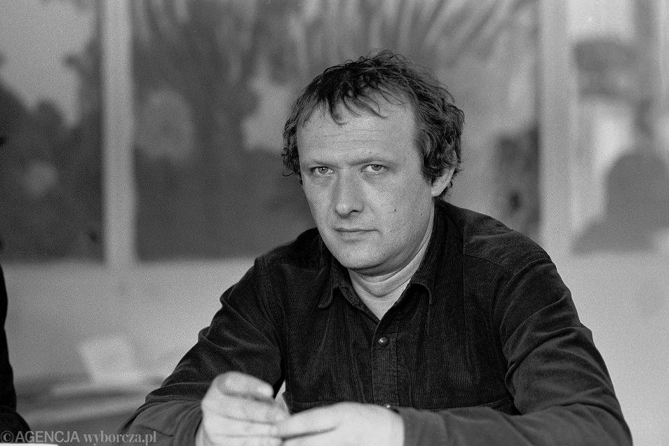 Adam Michnik, maj, 1989 r.