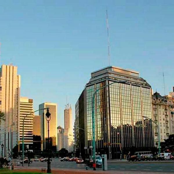 Nowoczesne centrum Buenos Aires