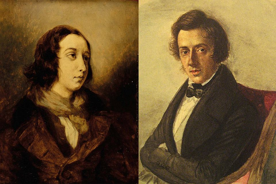 George Sand i Fryderyk Chopin