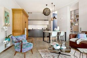 Wysmakowane mieszkanie architektki, która ceni minimalizm