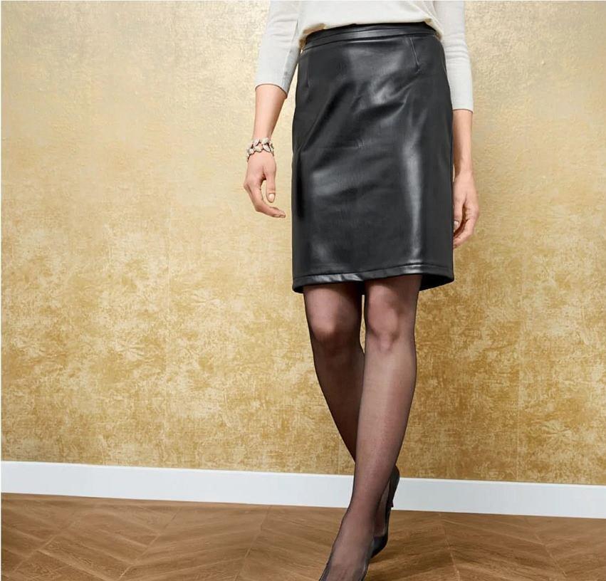Skórzana spódnica Lidl
