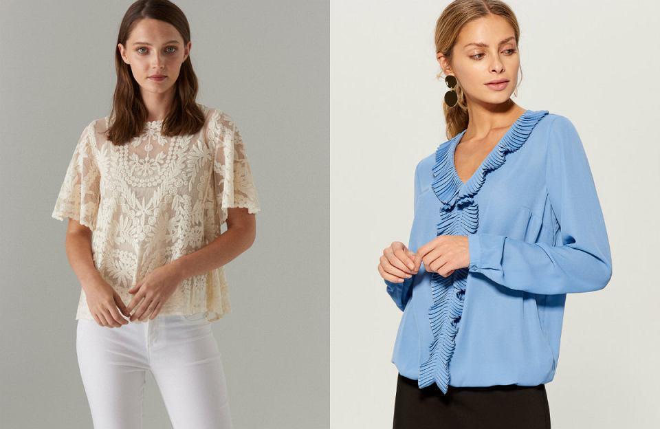 Eleganckie bluzki pasują do pracy i na uroczyste wyjścia