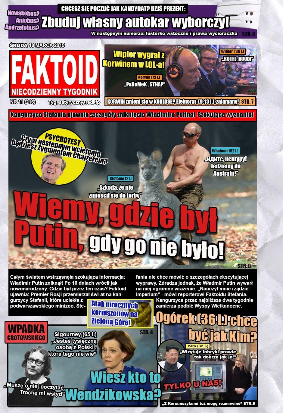 Faktoid, 18 marca 2015, nr 11 (213) - Faktoid