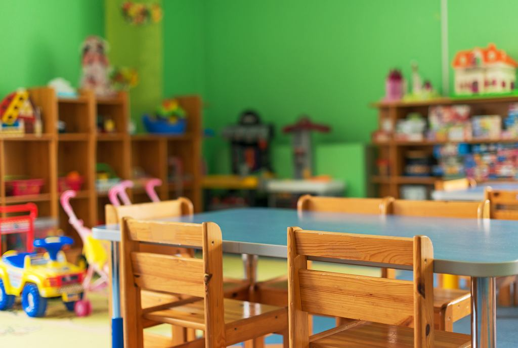 Koronawirus w przedszkolu (zdjęcie ilustracyjne)