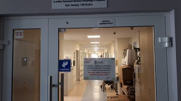 Oddział wewnętrzny szpitala w Pruszkowie