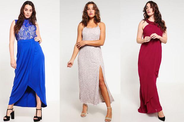 Dluga Sukienka Na Wesele Dla Puszystych Moda Plus Size