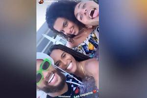 Neymar zorganizował wielką imprezę. Znane modelki w jednym basenie z Brazylijczykiem