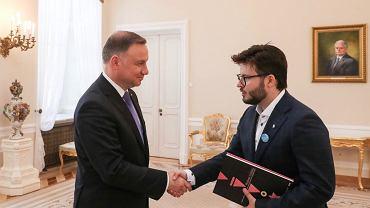 Andrzej Duda i Bartosz Staszewski