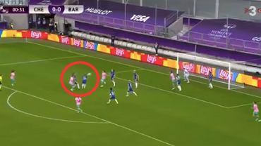 Finał kobiecej Ligi Mistrzów; samobójczy gol Chelsea. Źródło: Twitter