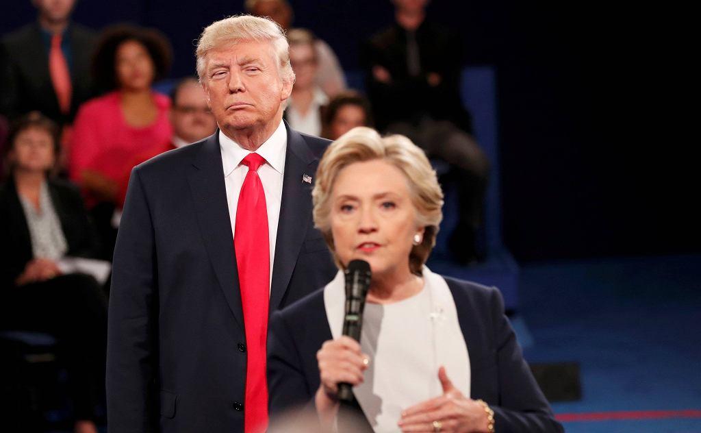 Druga debata prezydencka Donald Trump - Hillary Clinton