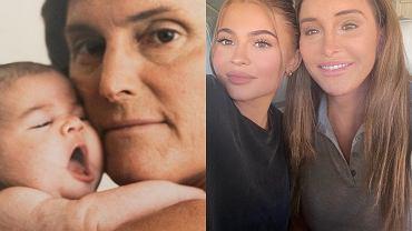 Kylie Jenner i Caitlyn Jenner