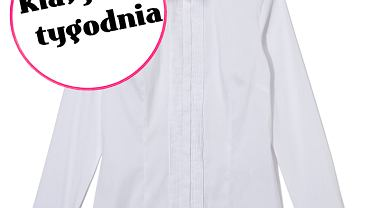 Klasyk tygodnia - biała koszula