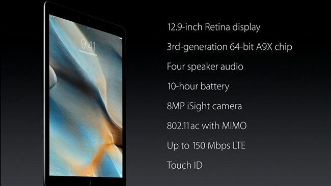 iPad Pro - Apple pokazuje wielki tablet o dużej mocy z klawiaturą i rysikiem