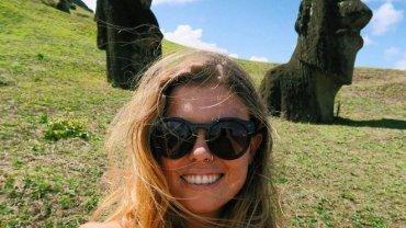 Jedna z podróżniczek, które dodają #viajosola do swoich wpisów