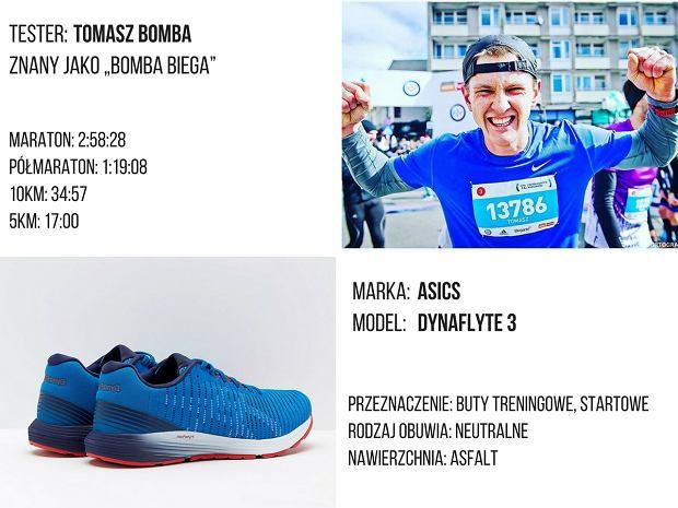 Asics DynaFlyte 3. Test butów.
