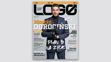 Marcin Dorociński bohaterem okładkowym lutowego 'LOGO'