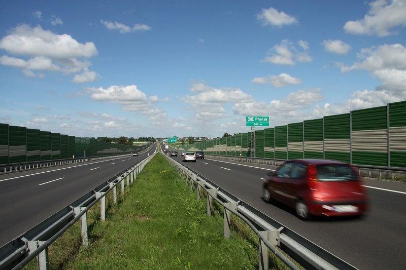 Trasa S7, Płońsk, droga ekspresowa