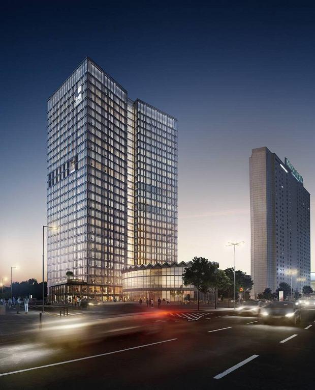 Obok Rotundy w miejscu Universalu powstaje nowy wieżowiec - Widok Tower