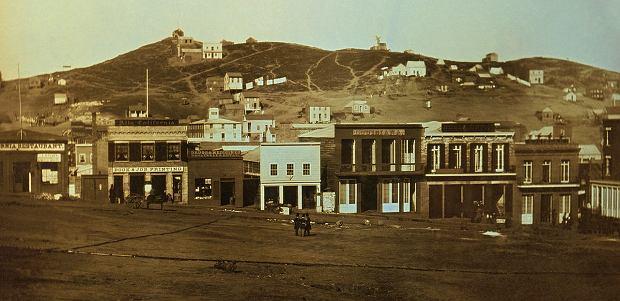 San Francisco w 1851 roku (fot. autor nieznany / wikimedia.org / Library of Congress CALL NUMBER: DAG no. 1331 / domena publiczna)