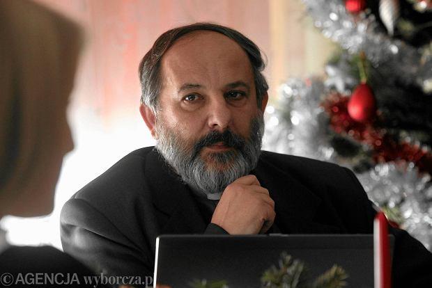 Ks. Isakowicz-Zaleski zaatakował ks. Adama Bonieckiego w związku z filmem Sekielskiego