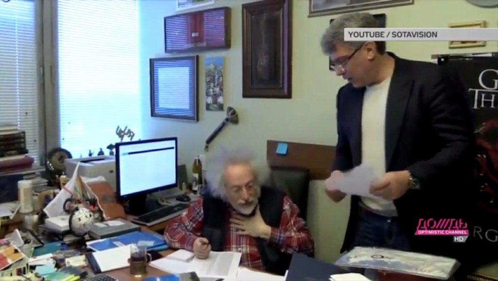 Borys Niemcowi i Aleksiej Wenediktow w rozgłośni