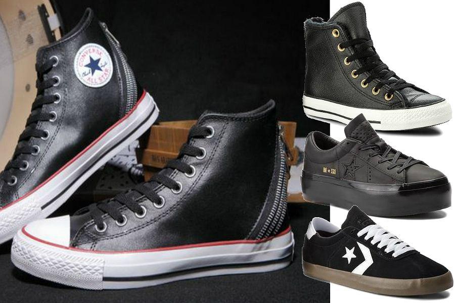 Czarne Converse