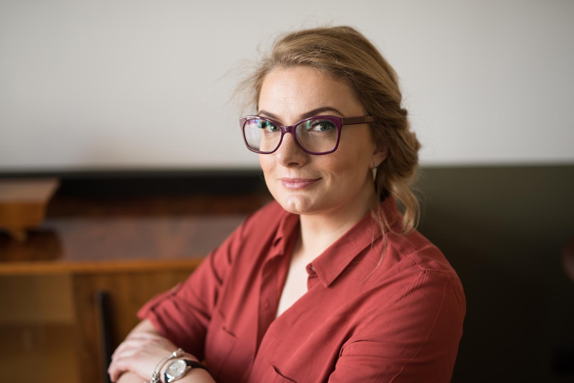 Aleksandra Krasowska (fot: materiały archiwalne)