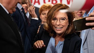 3.09.2019, Warszawa, Małgorzata Kidawa-Błońska