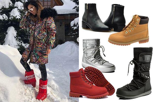 buty męskie zimowe moon boot