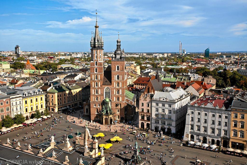 Rynek Główny w Krakowie (zdjęcie ilustracyjne)