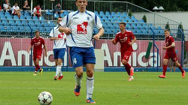 Mecz towarzyski we Wronkach: Stilon Gorzów - Bytovia Bytów 2:0 (0:0). Rafał Timoszyk