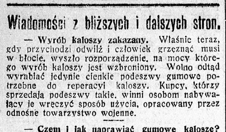 100-letni przegląd prasy