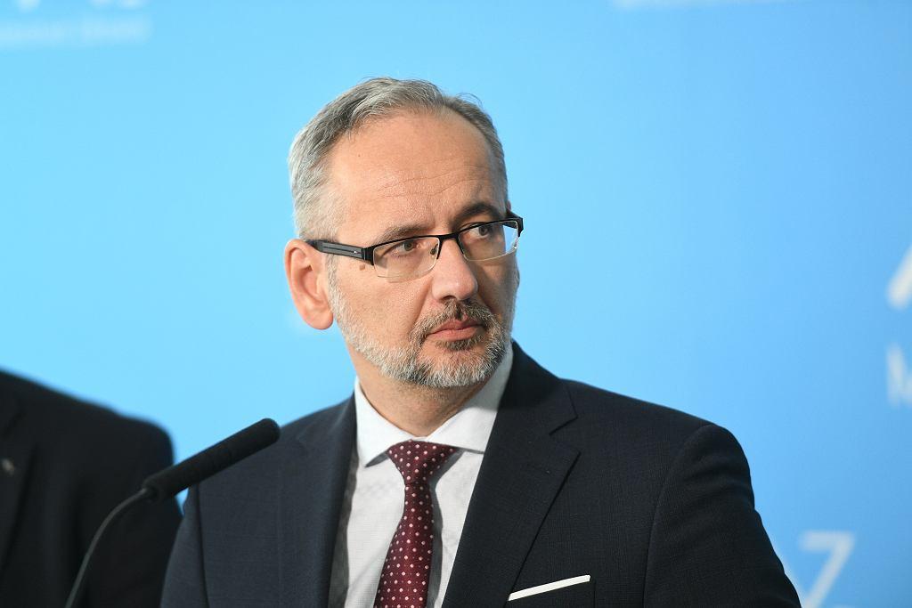 Konferencje prasowa ministra zdrowia Adama Niedzielskiego, 3 września 2020 r.