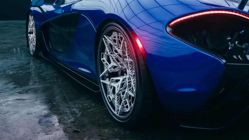 Felgi HRE Wheels wydrukowane na drukarce 3d