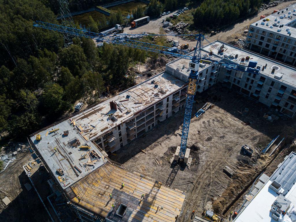 Budowa osiedla Nowy Nikiszowiec w Katowicach