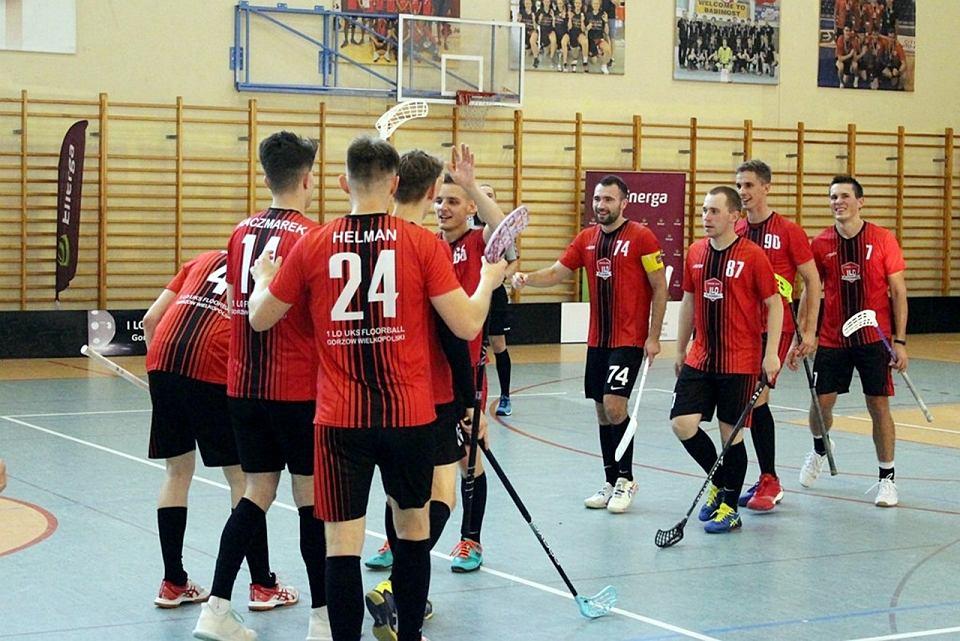 Energa Puchar Polski Mężczyzn w unihokeju w Gorzowie. Drużyna I LO UKS Floorball Gorzów