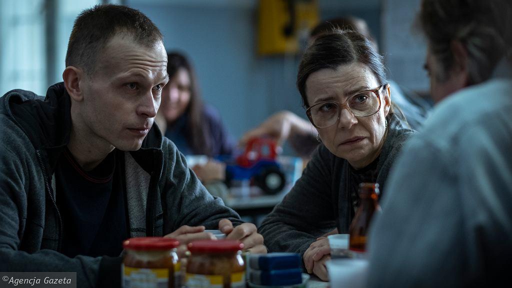 Piotr Trojan i Agata Kulesza na planie filmu '25 lat niewinności. Sprawa Tomka Komedy'