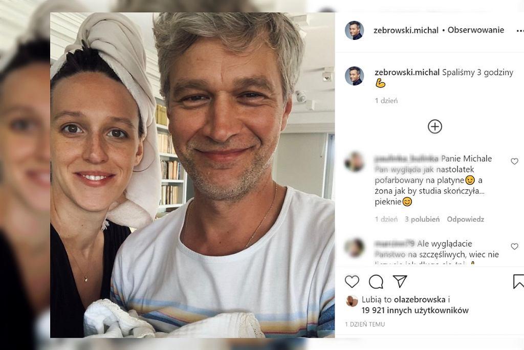 Michał Żebrowski pokazał zdjęcie 'po trzech godzinach snu'