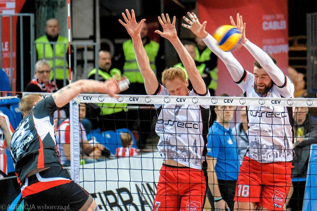 Asseco Resovia Rzeszów - Biełogorje Biełgorod 0-3