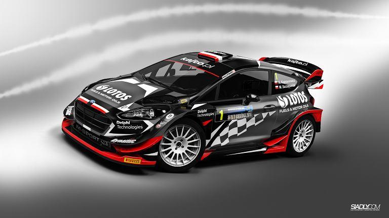 Ford Fiesta WRC dla Kajetana Kajetanowicza