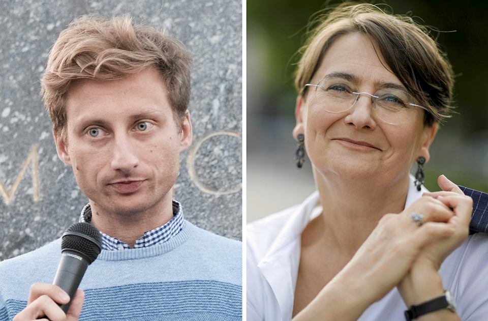 Wybory parlamentarne 2019. Kandydaci KO do Sejmu z okręgu poznańskiego: Franciszek Sterczewski i Joanna Jaśkowiak